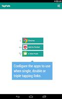 Screenshot of TapPath Browser Helper