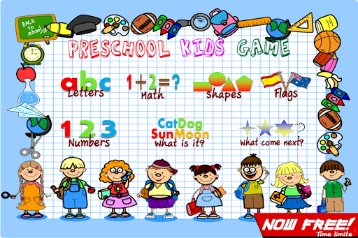 Preschool Kids English Game