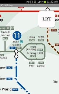 Singapore MRT Map - screenshot thumbnail