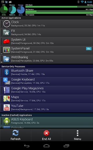 SystemPanelLite Task Manager  screenshots 6