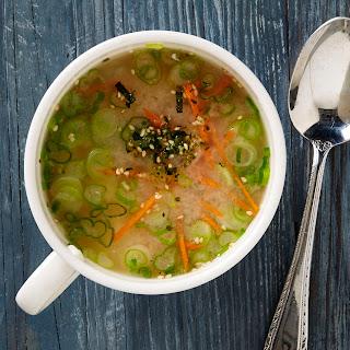 Quick Miso Soup.