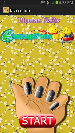 Blueas Nails