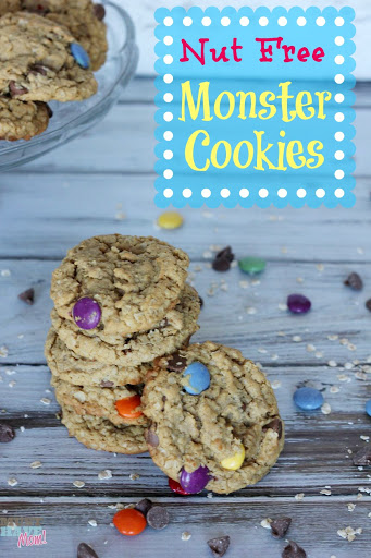 Nut Free Monster Cookies