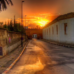 sunset in Rabat by Tariq Ouhti - City,  Street & Park  Neighborhoods ( rabat, hdr, sunset, d90, hd, morocco, high dynamic range, nikon )