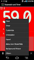 Screenshot of Stopwatch & Timer