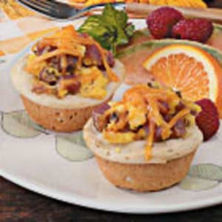 Omelet Biscuit Cups
