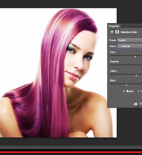 改變頭髮顏色的照片