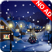 Snow Night City LWP (NO AD)