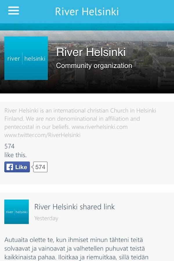 River Helsinki- screenshot