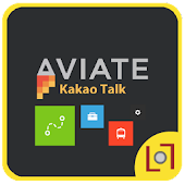 Kakao Talk Aviate Dark Theme