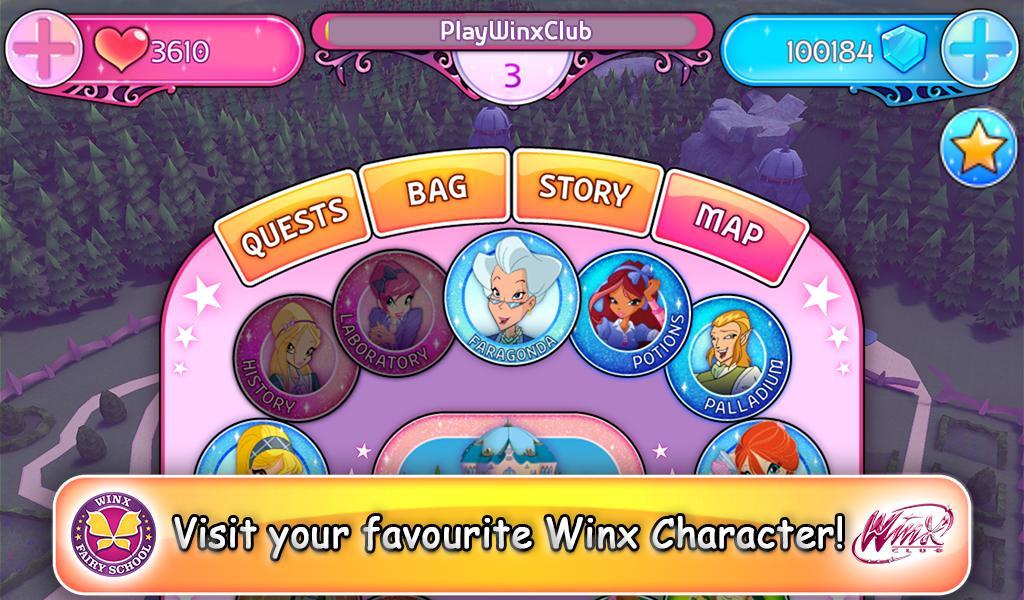 Winx Fairy School Lite screenshot 4