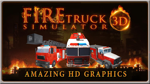 FIRE TRUCK SIMULATOR 3D 2.5 screenshots 1