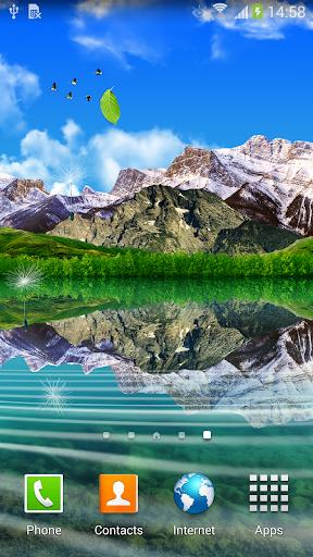 Landscape Live Wallpaper Lite