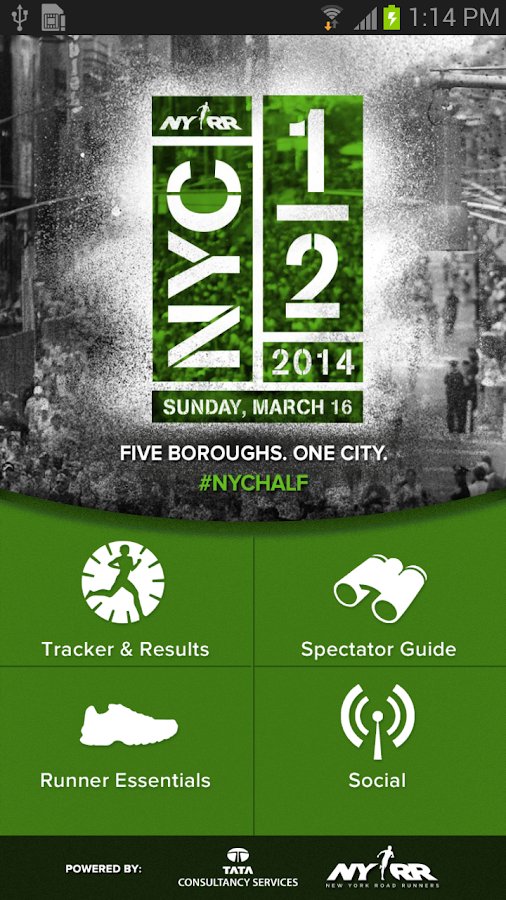 NYC Half '14 - screenshot