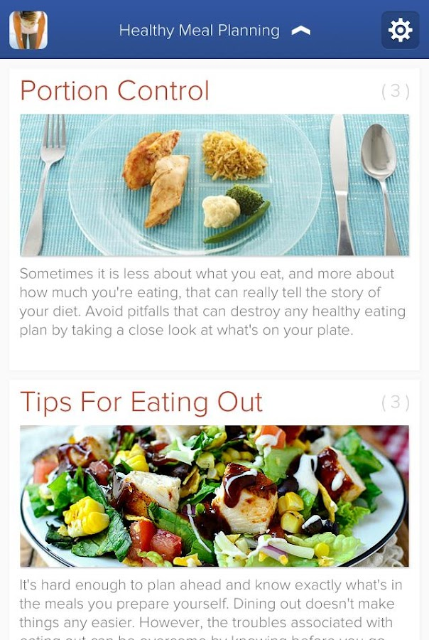 Diet Tips and Fitness Goals- screenshot