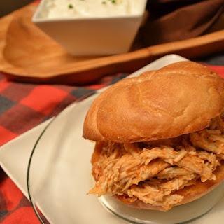 Pulled Buffalo Chicken Sandwich