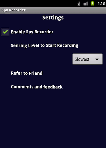 Spy Recorder