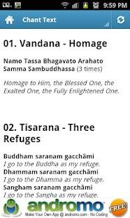 Buddhist Chant 1- screenshot thumbnail