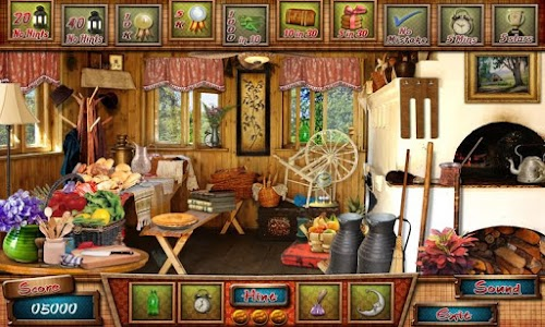 Hidden Object - Cabin in Woods v58.0.3