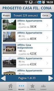 IMMOBILIARE PROGETTO CASA fil. - screenshot thumbnail
