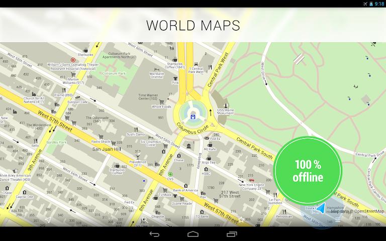 MAPS.ME Pro— offline maps 4.0.1 APK