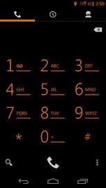 Tangerine CM11 AOKP Theme Screenshot 6