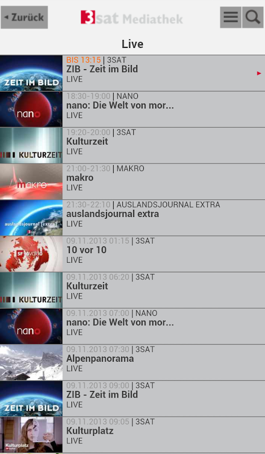 3sat De Mediathek