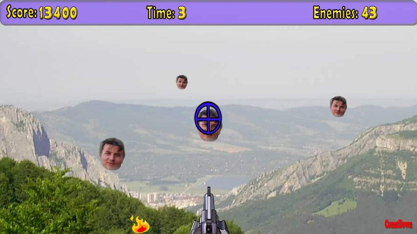 The Shooter Man - screenshot