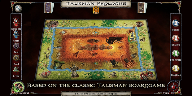 Talisman: Prologue Screenshot 1