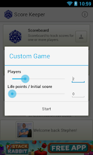 Score Keeper - screenshot thumbnail