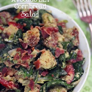 Avocado BLT Cornbread Salad