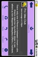 Screenshot of Popup SMS Pro.