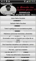 Screenshot of Frases Pablo Escobar