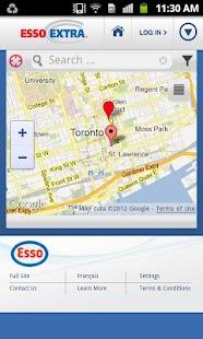 Esso Extra App- screenshot thumbnail