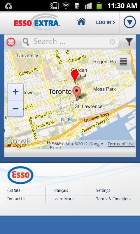 Esso Extra App- screenshot