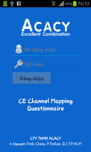 CE Channel Mapping