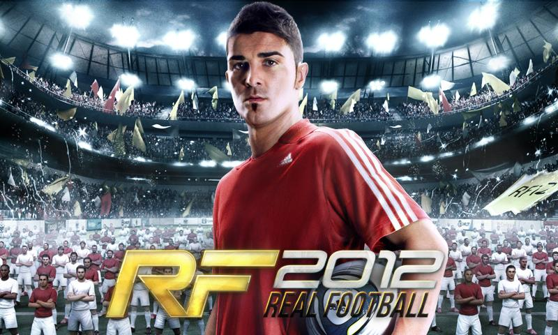 Real Football 2012– captură de ecran