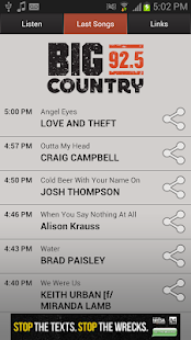 Big Country 92.5 KTWB - screenshot thumbnail