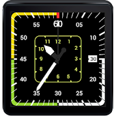 Aviation Watch Face for Wear