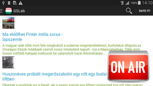 【免費音樂App】Hungary Radio & News Headline-APP點子