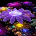 3D flower 012 logo