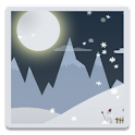 Real winter day Live Wallpaper icon