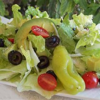 Karen's Spring Mix Salad.