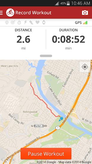 Map My Ride+ GPS Cycling- screenshot thumbnail