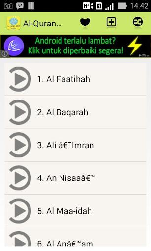 Al Quran Mp3 Audio