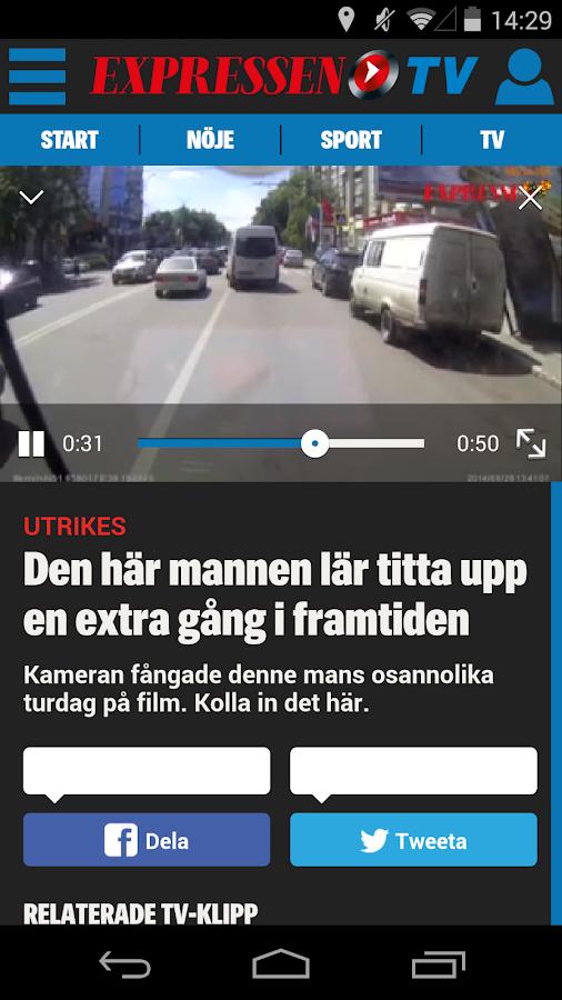 Expressen - screenshot