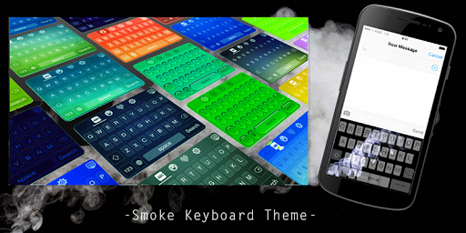 Smoke Keyboard Theme