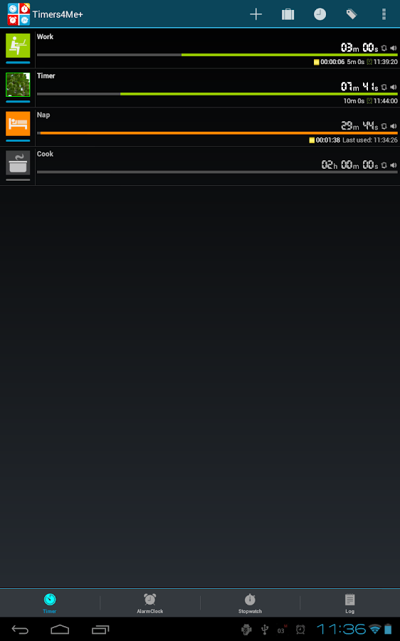 Timers4Me - Timer & Stopwatch- screenshot
