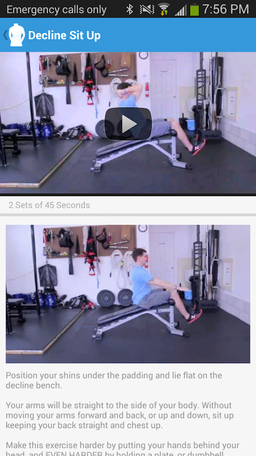 6 Six Pack Abs & Core - screenshot