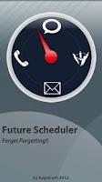 Screenshot of Future Scheduler